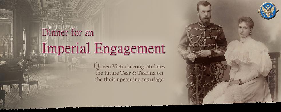 Royal Menus -Tsar engagement - windsor c