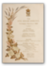 Royal Menus - George V - wedding menu.pn