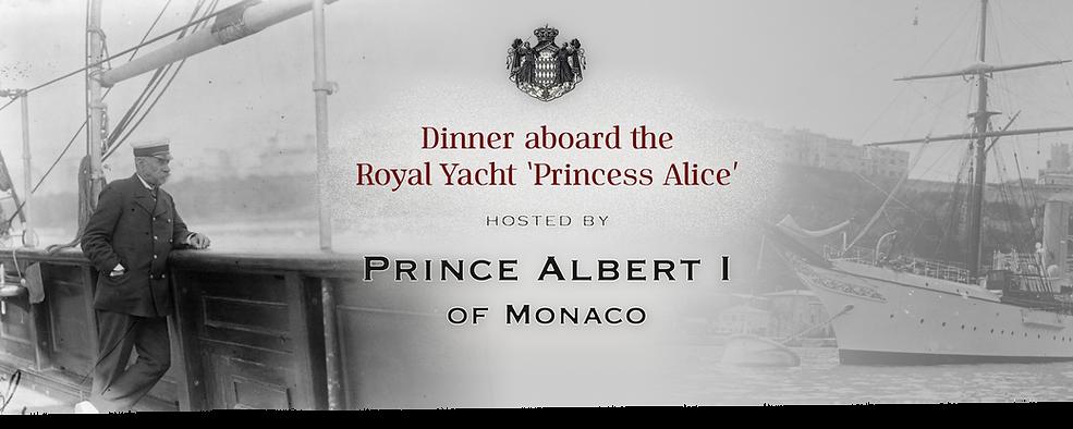 Royal Menus - prince minaco - princess a