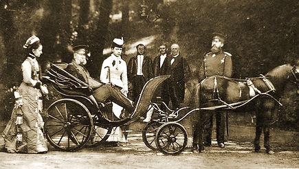 Royal Menus - king of prussia - german k
