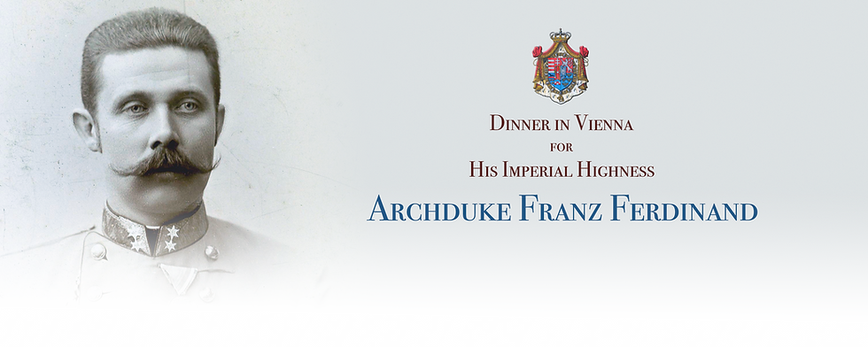 Royal Menus - archduke franz - 1899.png