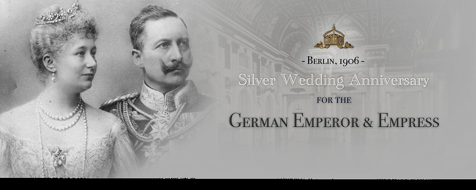 Royal Menus - WII - Kaiser Silver Weddin