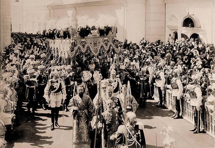Royal Menus - Nicholas II - coronation -