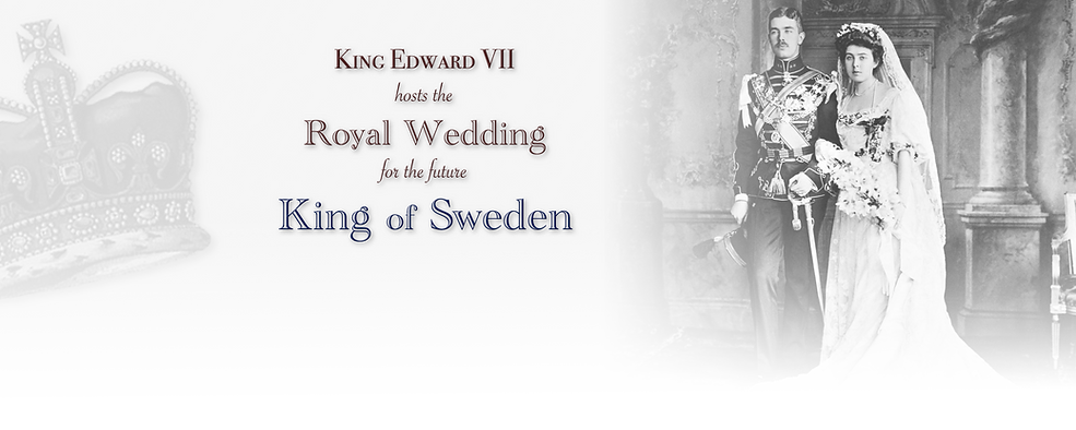 Royal Menus - king sweden - royal weddin