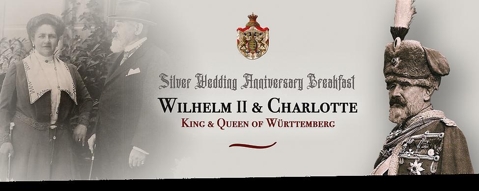 Royal Menus - King Wurttemberg - 1911 -