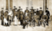Rouyal Menus - 1870 - Franco Prussian Wa
