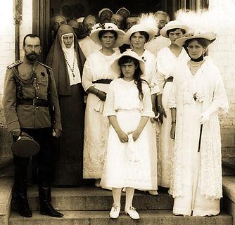 Royal Menus - Tsar and Tsarina with Eliz