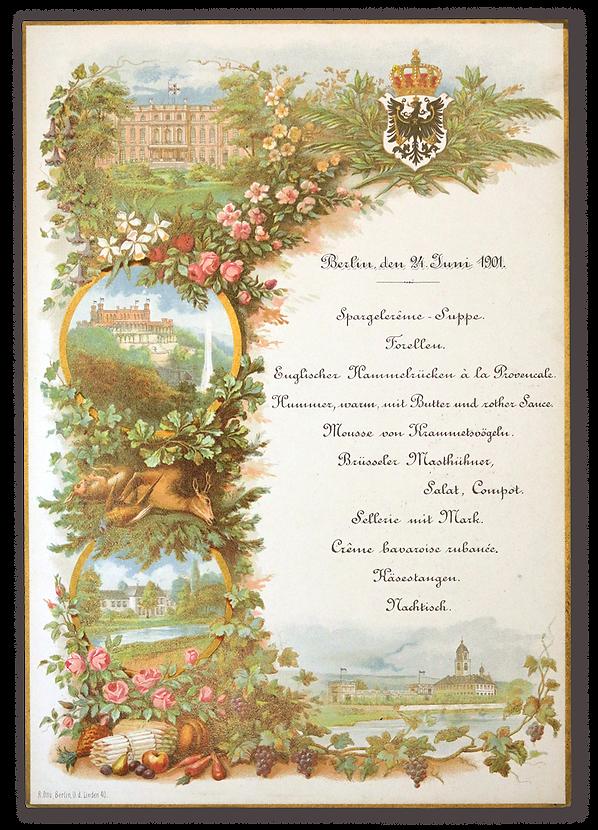 royal menus - prince albrecht prussia.pn
