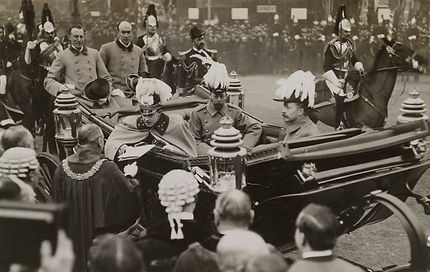 King manuel portugal 1909 - prince wales