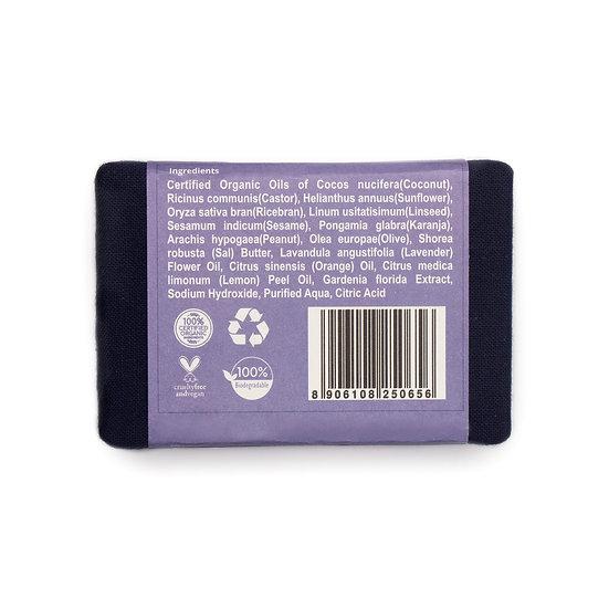 Rustic Art Lavender Soap   Organic & Vegan