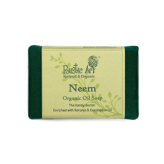 Rustic Art Neem Soap | Organic & Vegan