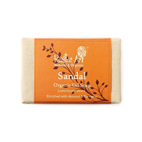 Rustic Art Sandal Soap | Organic & Vegan