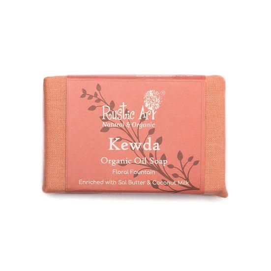 Rustic Art Kewda Soap | Organic & Vegan