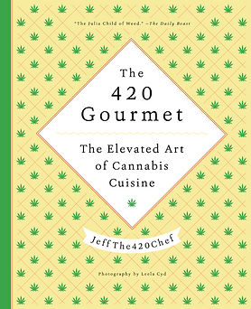 The 420 Gourmet Book Cover