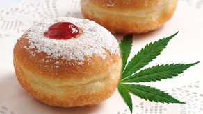 Weed-Infused, Caramel-Filled Doughnuts For Hanukkah