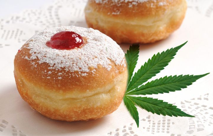 Weed-infused sufganiyot take Hannukah to new highs.