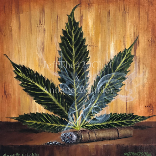 420 Art: #DownTime