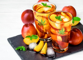 Infused Peach Iced Tea