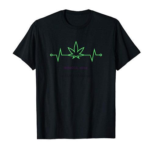 Cannabis Heartbeat T-Shirt