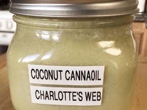 """Light Tasting"" Canna-Coconut Oil"