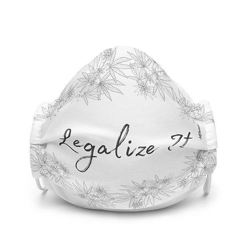 Legalize Face Mask White
