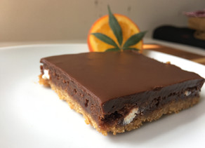 Speculoos Surprise Holiday Canna-Brownies