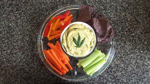 Canna- Avocado Hummus