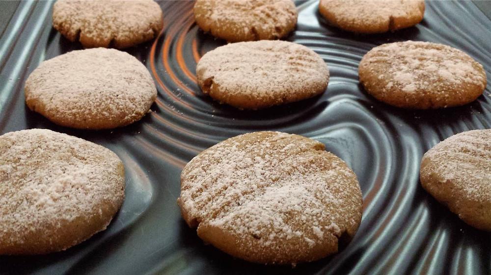 Vegan Cinnamon Molasses Canna-Cookies