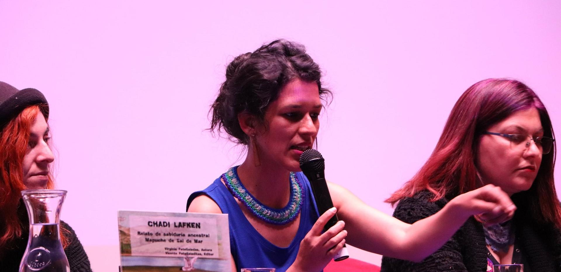 Virginia PataSaladas, autora de Chadi Lafken