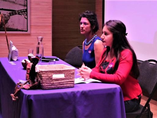 Chadi Lafken, relato de sabiduría ancestral Mapuche de Sal de Mar en Museo Violeta Parra.