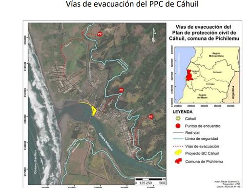 Diagnóstico y recomendaciones al Plan de Evacuación por Tsunami en Cahuil