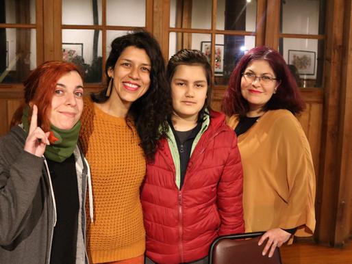 Lanzamiento del libro Chadi Lafken en Pichilemu y Santiago de Chile.