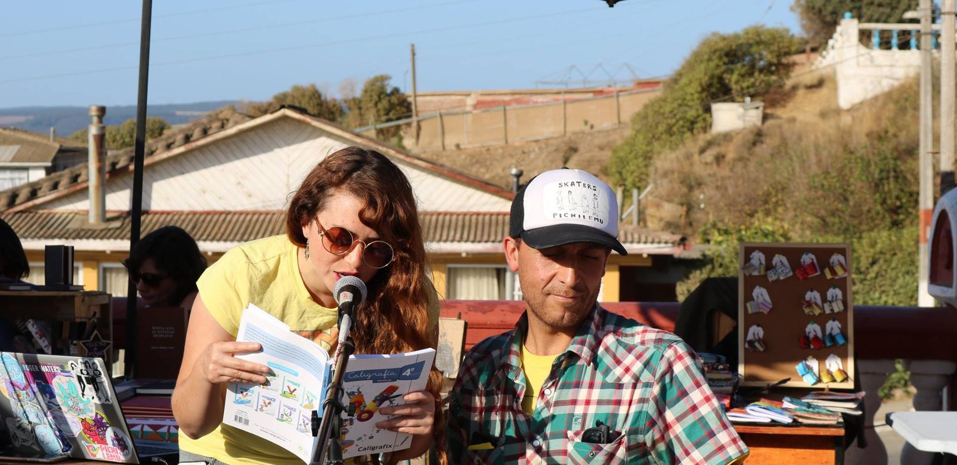 Pablo Carvajal y Nancy Gómez