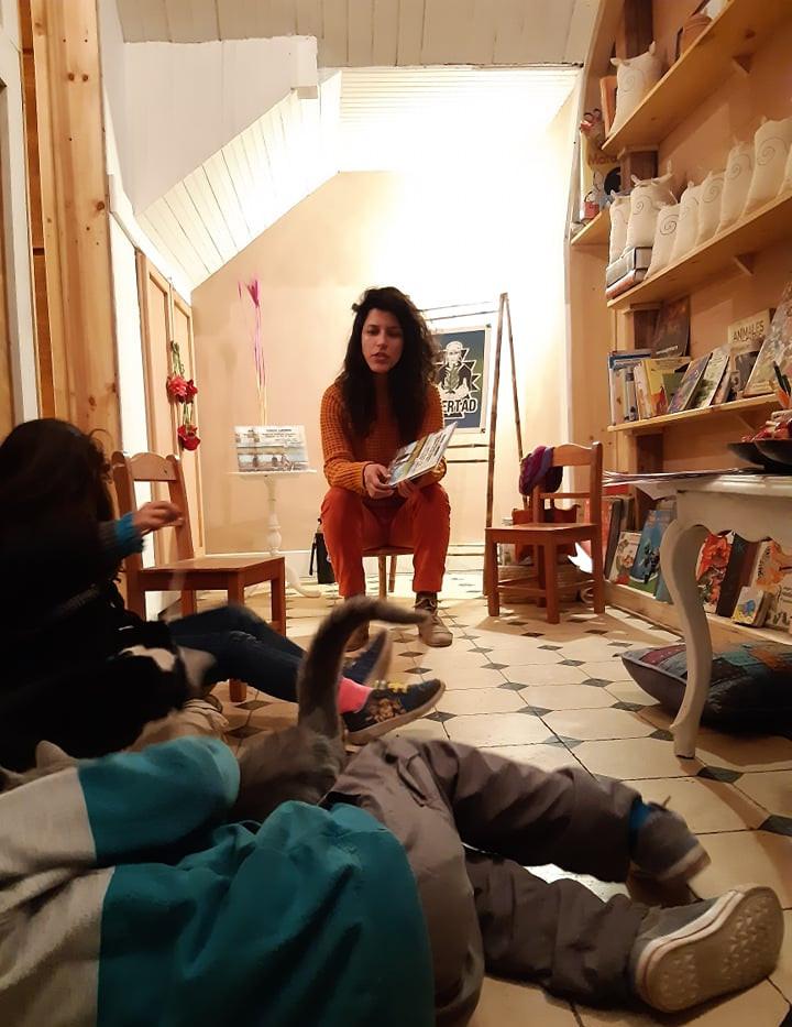 Lanzamiento libro Chadi Lafken
