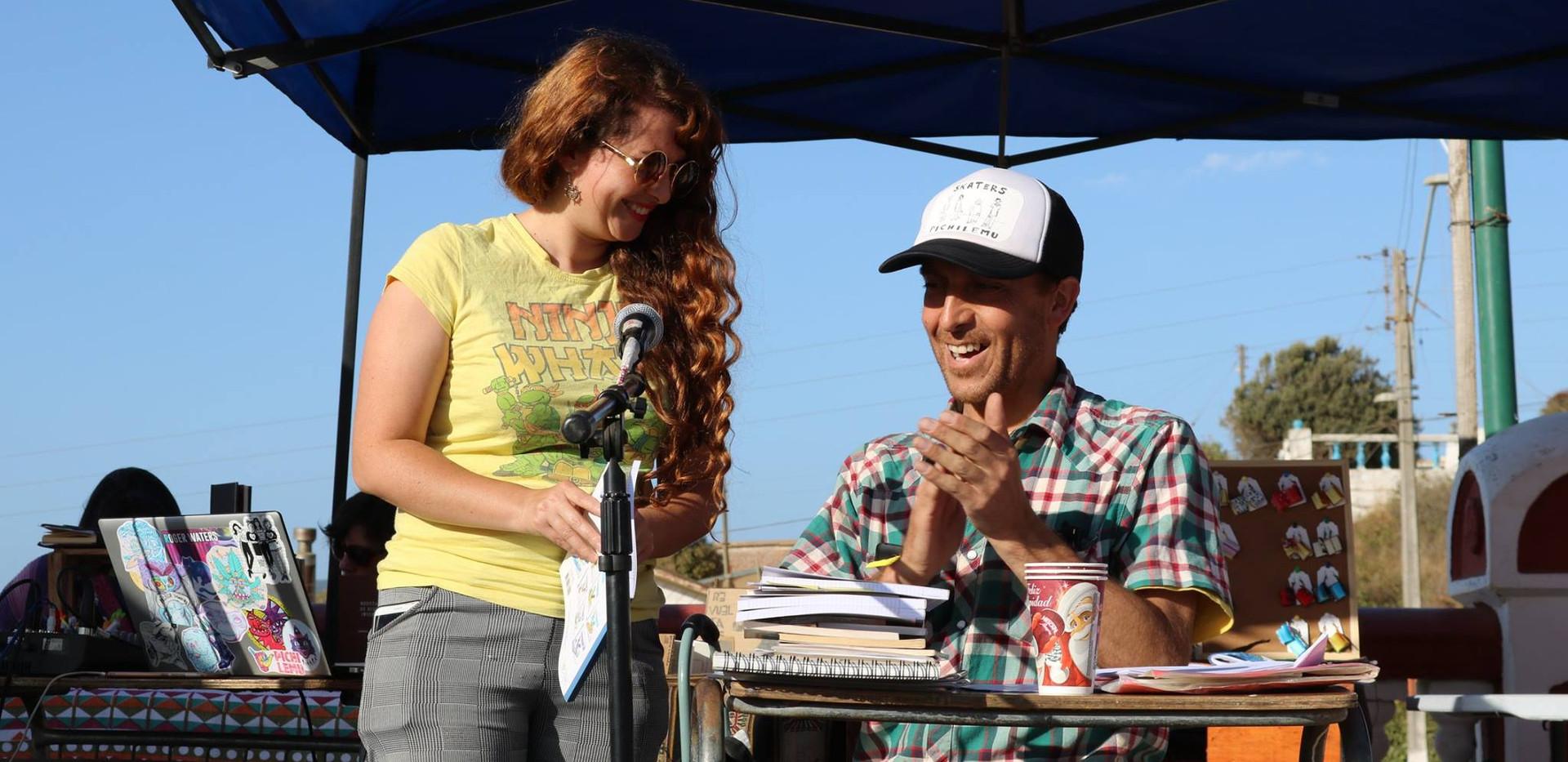 Nancy Gómez y Pablo Carvajal