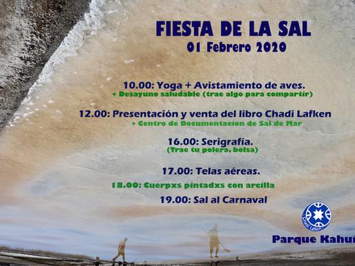 Fiesta de la Sal 2020 en Cahuil