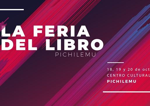 Chadi Lafken en La Feria del libro de Pichilemu.