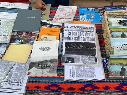 Chadi Lafken en Feria Internacional del Libro Pichilemu 2020