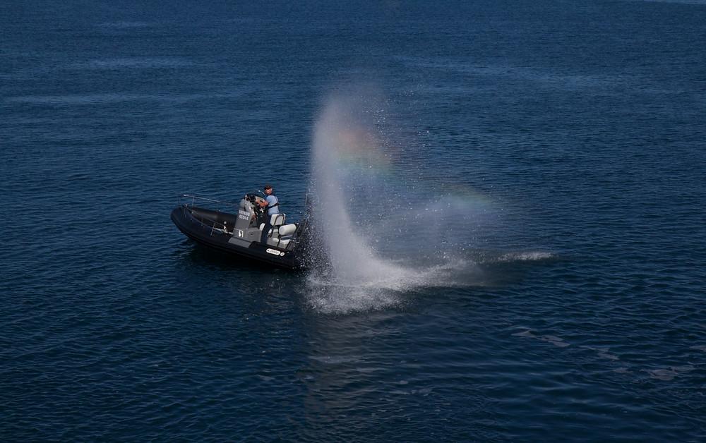 """OLM Permis bateau """"Water-burn"""""""