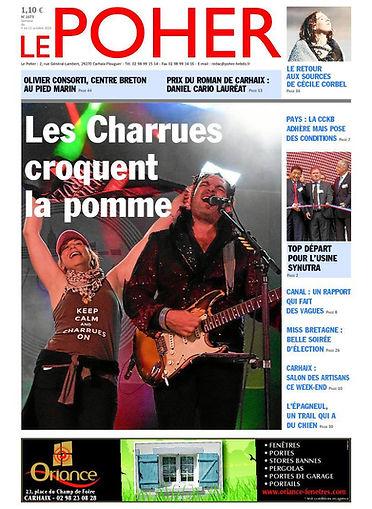 """OLM Permis Bateau 4° de couverture """"Le Poher"""" octobre 2016"""