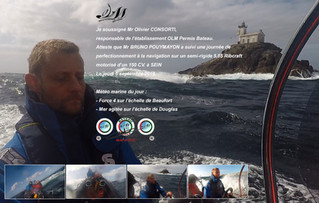 Perfectionnement de Bruno POUYMAYON (expert maritime) à Sein