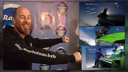 Reportage Radio Harmonie lancement de l'activité Jet Ski OLM Permis Bateau
