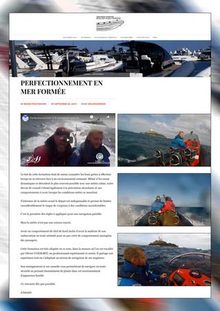 Retour d'expérience Bruno POUYMAYON (Expert Maritime) Stage de Perfectionnement Mer Formée