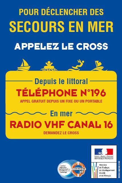 OLM - Numéro d'appel d'urgence en mer