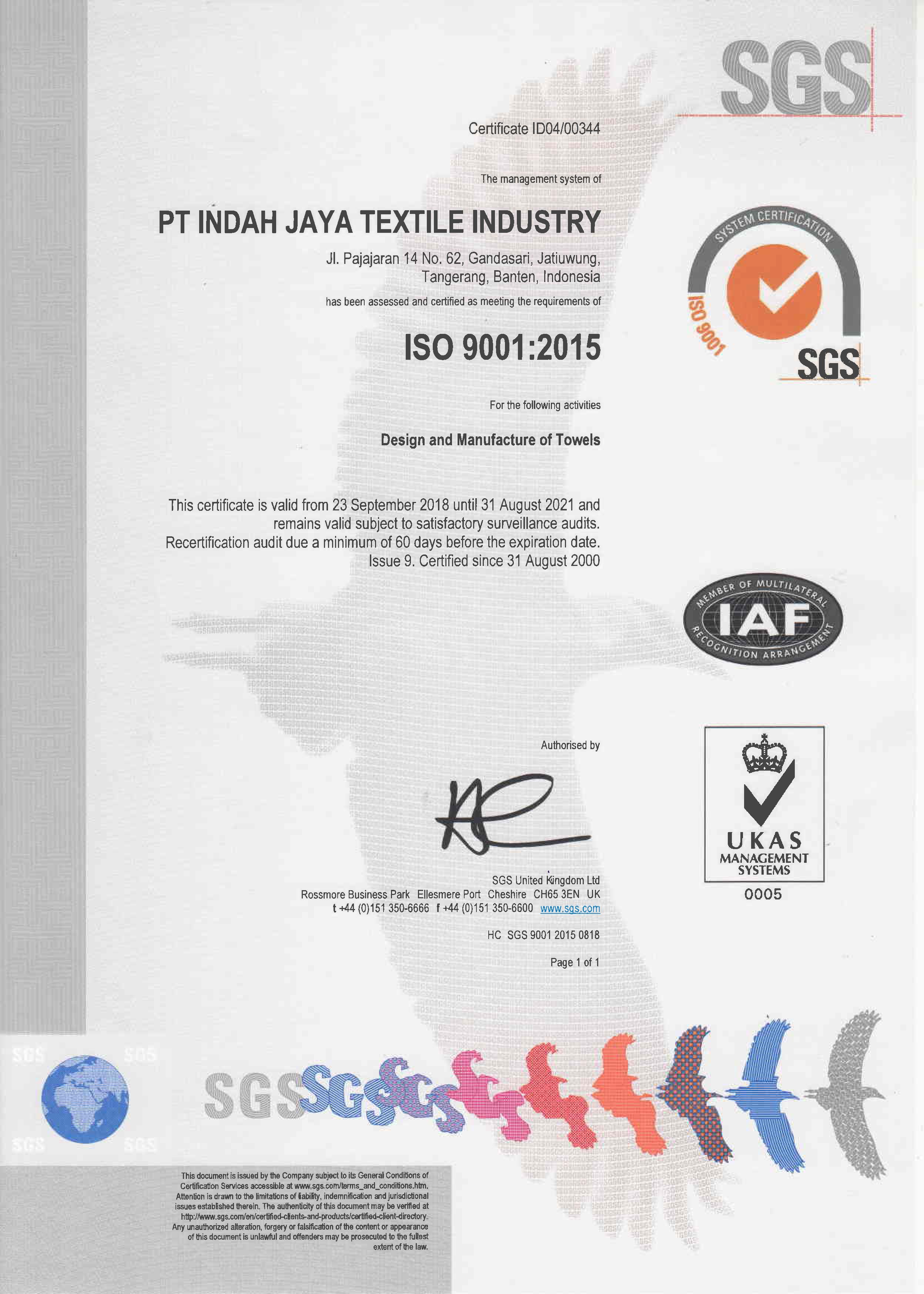 sertifikat-ISO-9001-PT-Indah-Jaya-Textil
