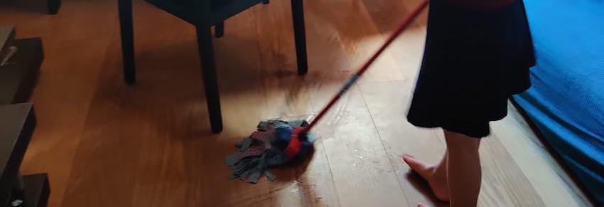 掃除/ Clean-up