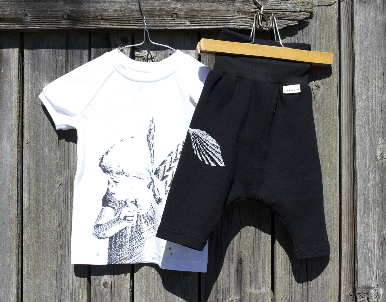 Illusioni T-shirt and Shorts