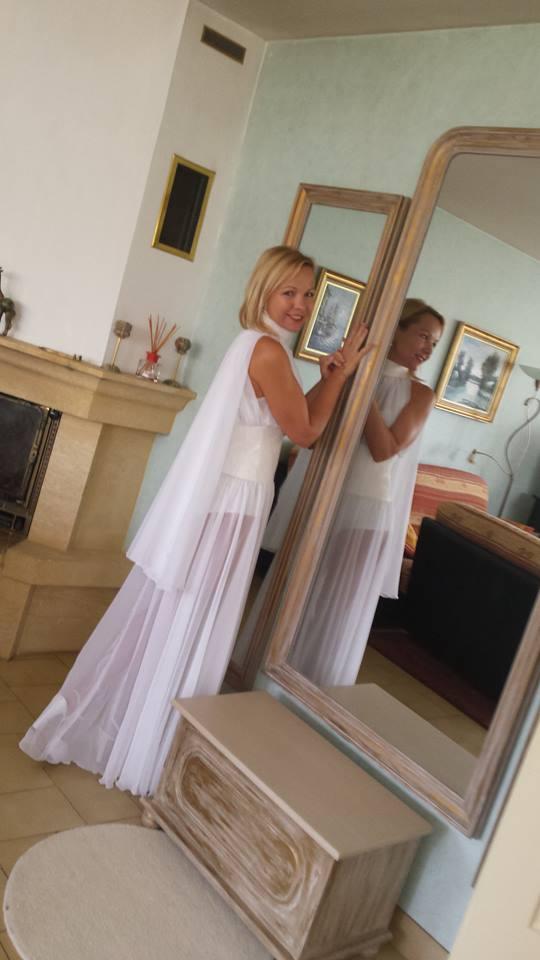 Robe de mariée créée par Vera