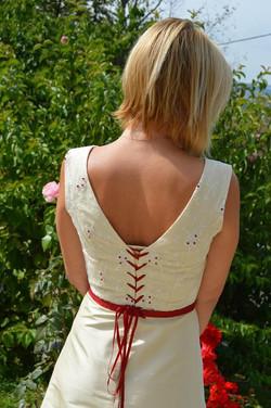 création de robe de mariée