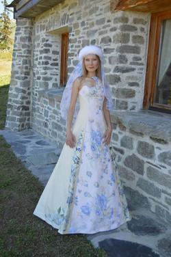 Robe de mariée brodée